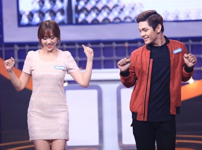 Hari Won hao hung khi lam nguoi choi o game show hinh anh 4