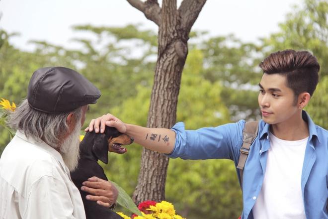 Jun Pham (365) moi 'co giao Khanh' dong chung MV don Tet hinh anh 5
