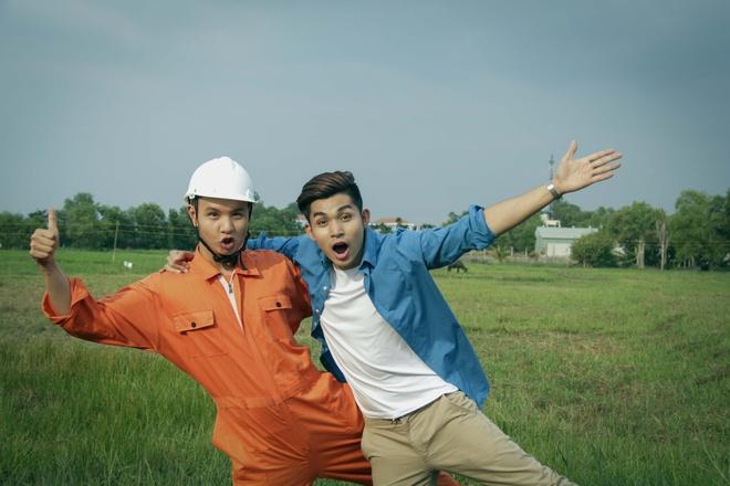 Jun Pham (365) moi 'co giao Khanh' dong chung MV don Tet hinh anh 3