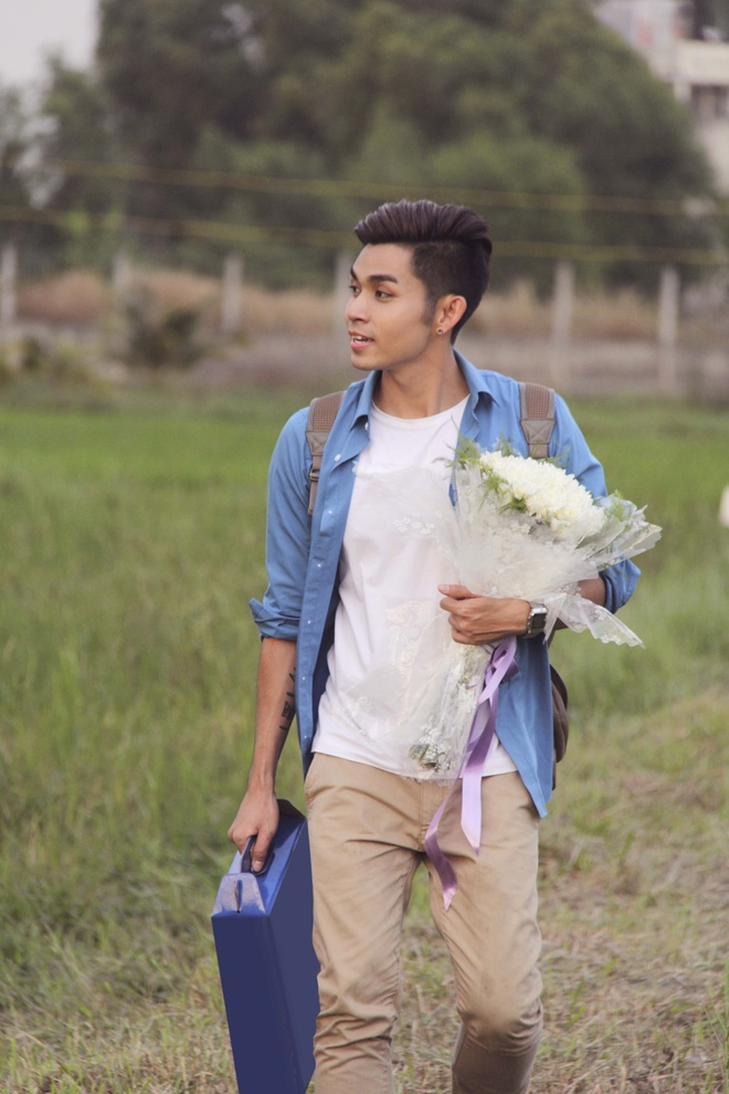 Jun Pham (365) moi 'co giao Khanh' dong chung MV don Tet hinh anh 6