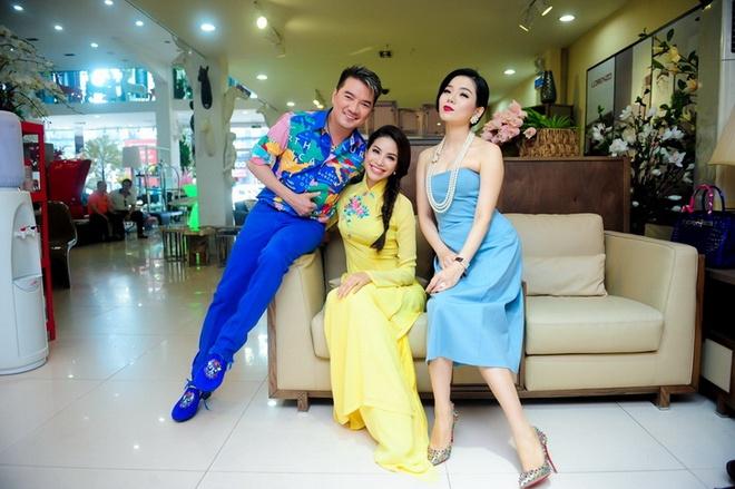 Pham Huong hao hung ghi hinh cung Mr. Dam, Le Quyen hinh anh 4