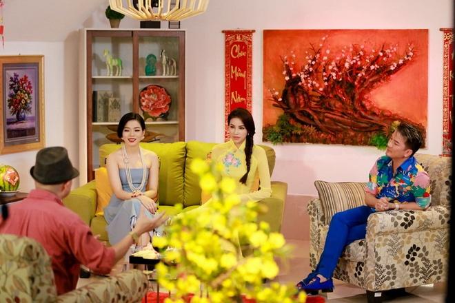 Pham Huong hao hung ghi hinh cung Mr. Dam, Le Quyen hinh anh 1