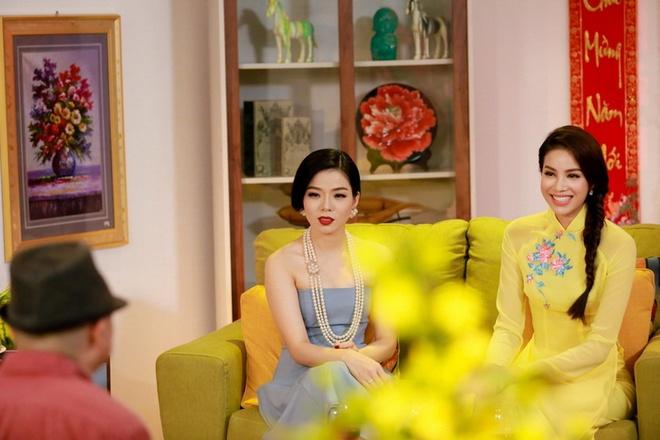 Pham Huong hao hung ghi hinh cung Mr. Dam, Le Quyen hinh anh 3