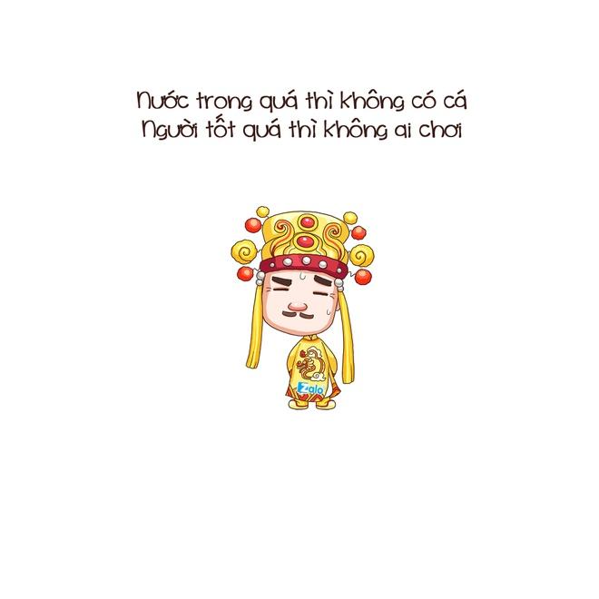 Chibi hai huoc ve nhung cau noi an tuong trong Tao quan 2016 hinh anh 9
