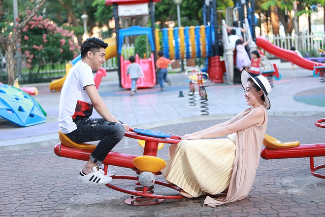 Noo Phuoc Thinh yeu Toc Tien cuong nhiet trong MV Valentine hinh anh 1