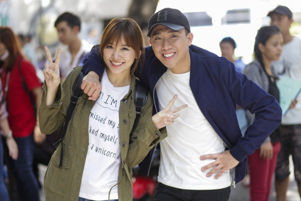 Tran Thanh - Hari Won don Valentine muon cung khan gia hinh anh 1