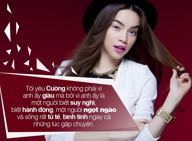 Nhung phat ngon chac nich cua Ha Ho ve chuyen yeu hinh anh 5