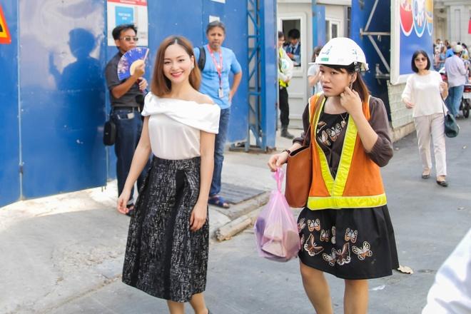 Lan Phuong tham du an tau dien ngam dau tien cua Viet Nam hinh anh 1