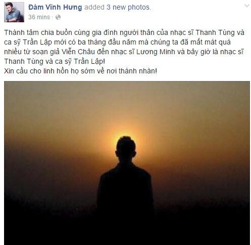 Nghe si Viet va doc gia tiec thuong Tran Lap hinh anh 4