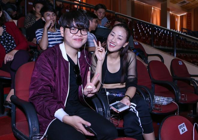 Minh Hang tham gia tong duyet chung ket The Remix hinh anh 4