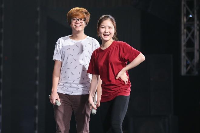 Minh Hang tham gia tong duyet chung ket The Remix hinh anh 8