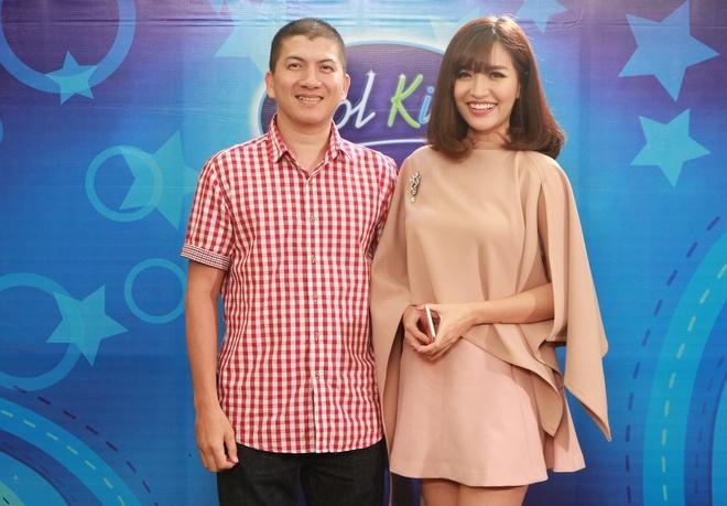 Isaac ngoi ghe nong Vietnam Idol Kids hinh anh 2