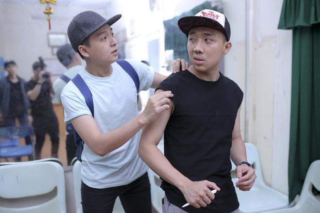 Tran Thanh cang thang tap luyen cho live show hinh anh 3