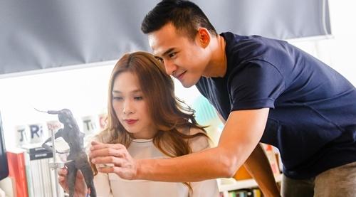 My Tam viet tiep chuyen tinh voi Luong The Thanh trong MV hinh anh