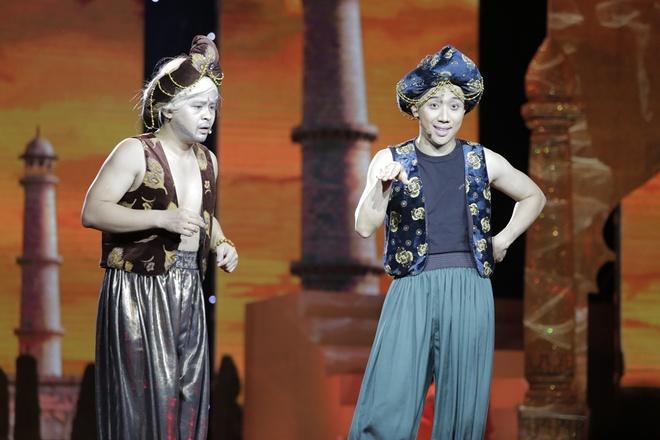 Tran Thanh muon cuoi nguoi nhu Hari Won trong live show hinh anh 1