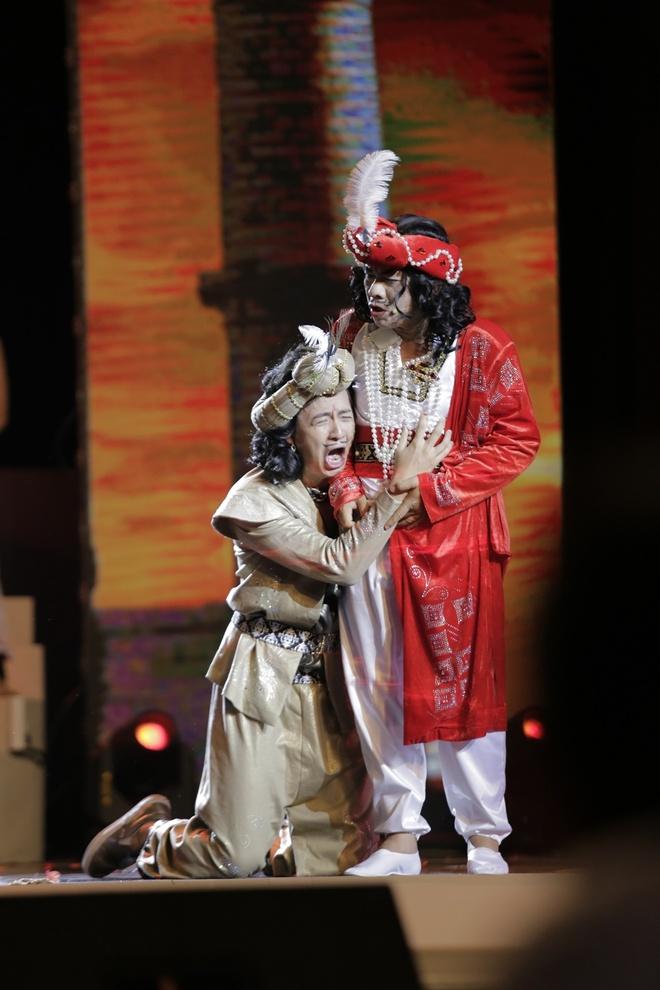 Tran Thanh muon cuoi nguoi nhu Hari Won trong live show hinh anh 3