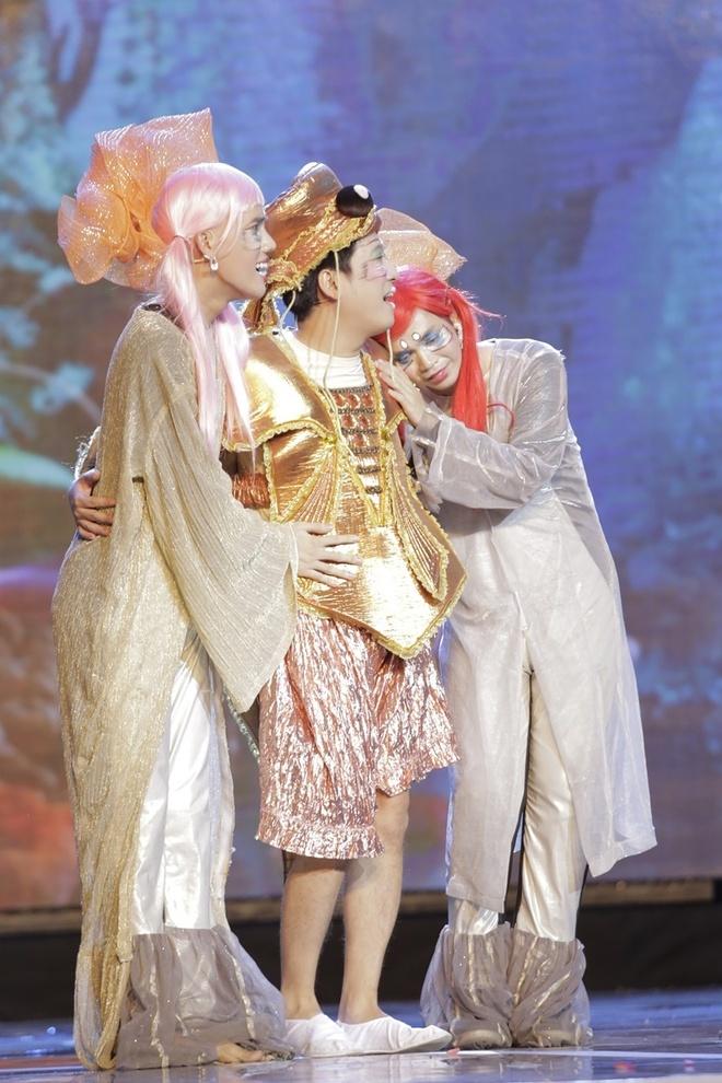 Tran Thanh muon cuoi nguoi nhu Hari Won trong live show hinh anh 12