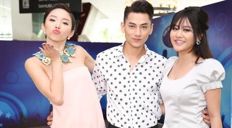 Toc Tien toa sang tren ghe nong Vietnam Idol Kids hinh anh