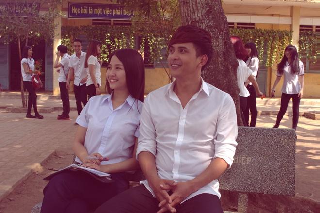 Ho Quang Hieu hoa trang tre hon 10 tuoi de quay MV hoc tro hinh anh 1