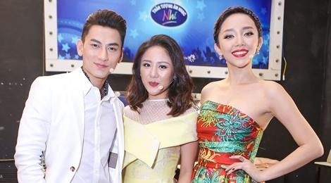 Toc Tien, Van Mai Huong xinh dep khi lam giam khao hinh anh