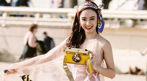 Phuong Trinh xuat hien tren instagram cua Dolce&Gabbana hinh anh