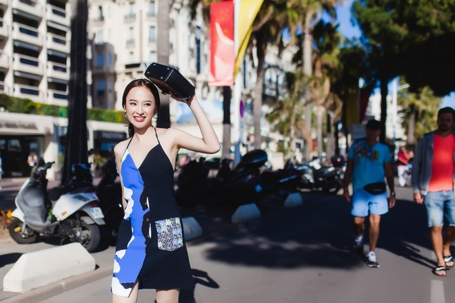 Angela Phuong Trinh noi bat tren duong pho Phap hinh anh 9