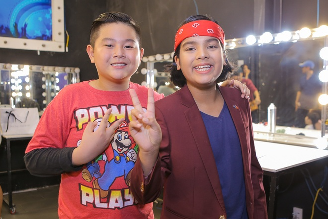Isaac tranh thu 'lay long' thi sinh Vietnam Idol Kids hinh anh 7