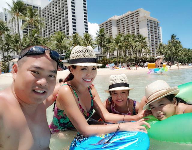 Thuy Hanh - Minh Khang ky niem 10 nam ngay cuoi o Hawaii hinh anh 5