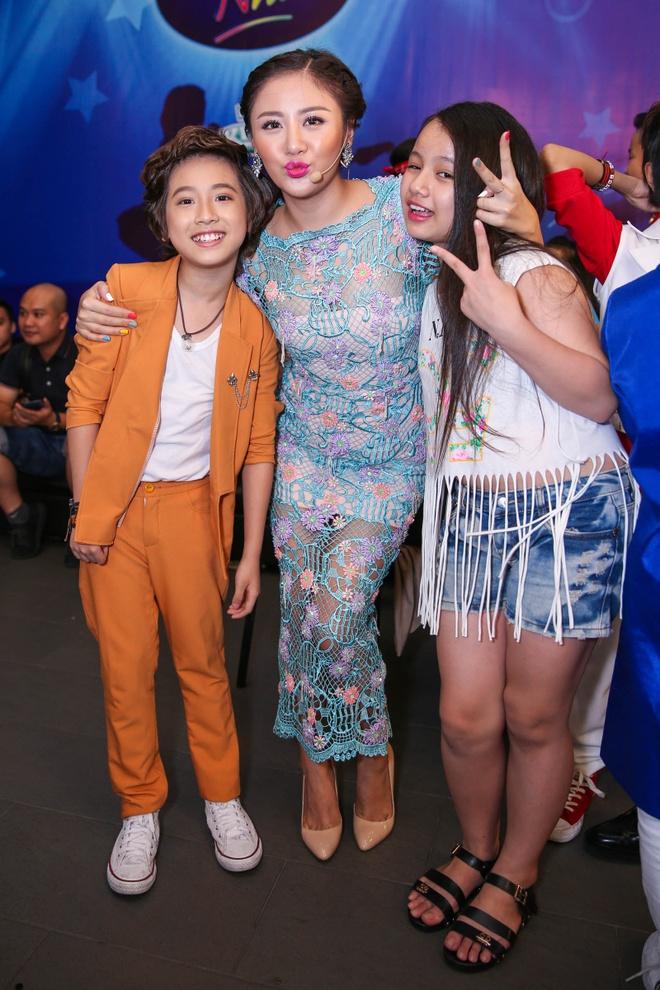 Thi sinh Vietnam Idol Kids cang thang truoc dem ban ket hinh anh 4