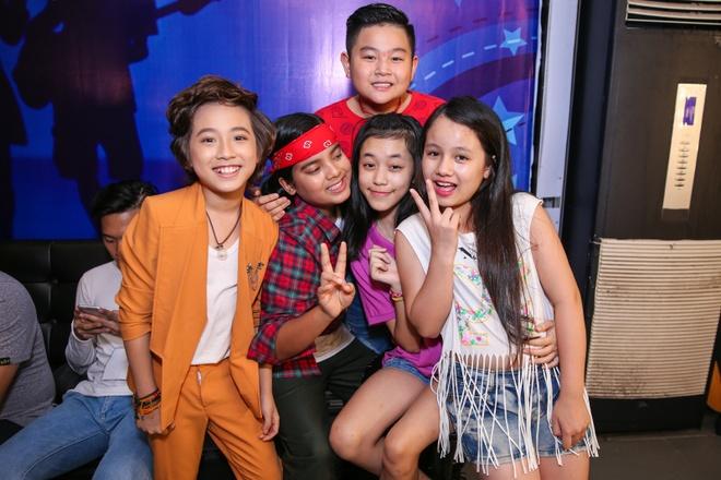 Thi sinh Vietnam Idol Kids cang thang truoc dem ban ket hinh anh 7
