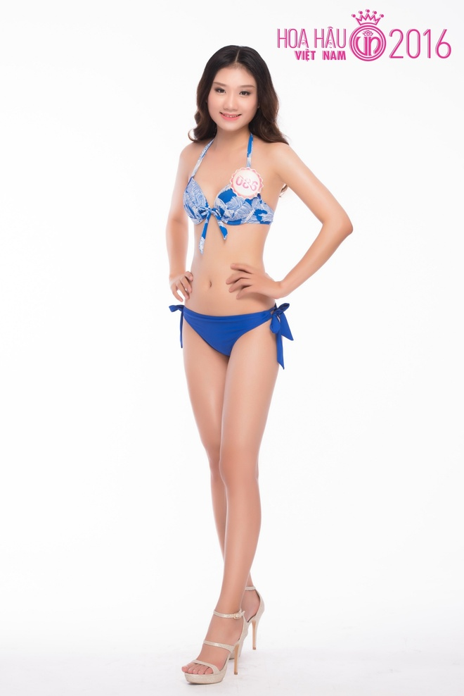 Thi sinh HHVN 2016 do so do hinh the trong trang phuc bikini hinh anh 7