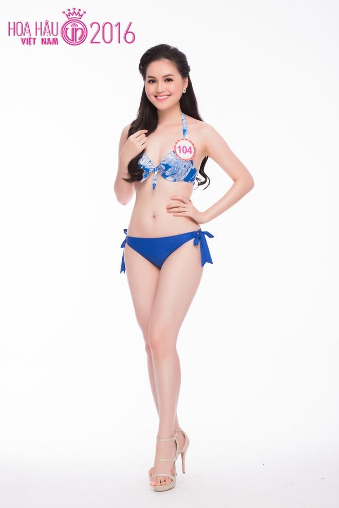 Thi sinh HHVN 2016 do so do hinh the trong trang phuc bikini hinh anh 9