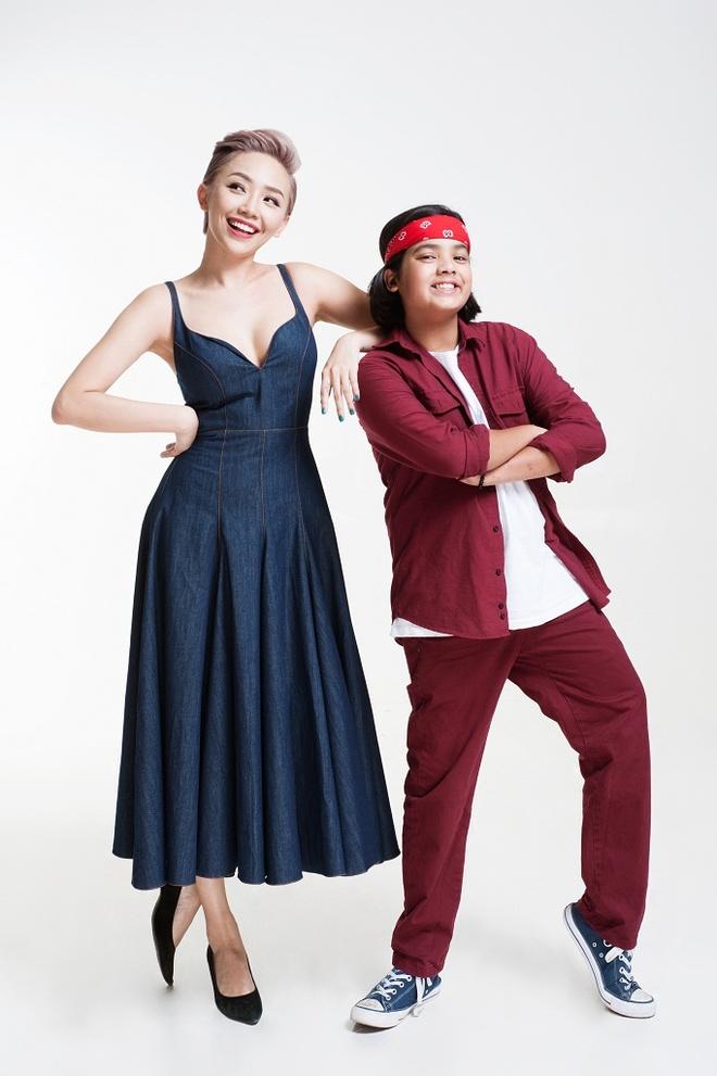 Toc Tien tinh nghich ben dan thi sinh Vietnam Idol Kids hinh anh 7