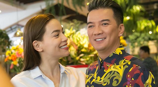 Ha Ho - Dam Vinh Hung than thiet di su kien hinh anh