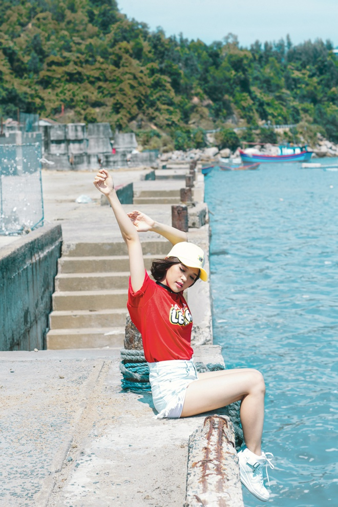Suni Ha Linh chuan bi tang toc sau hit 'Em da biet' hinh anh 3