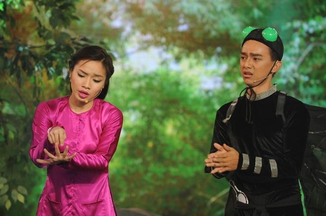Le Thi Dan xin nghi thi sau khi cai tay doi voi Truong Giang hinh anh 4