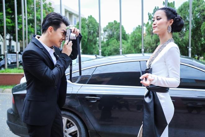 Noo Phuoc Thinh, Dong Nhi dua nghich khi quay The Voice Kids hinh anh 4
