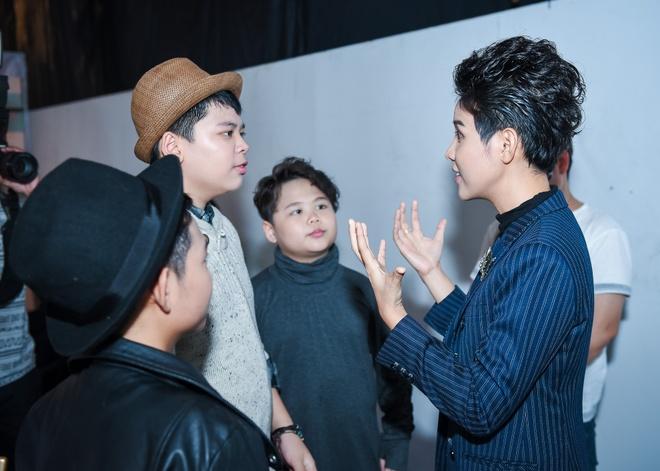 Noo Phuoc Thinh, Dong Nhi dua nghich khi quay The Voice Kids hinh anh 8