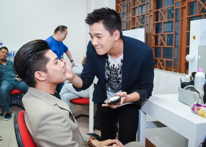 Noo Phuoc Thinh, Dong Nhi dua nghich khi quay The Voice Kids hinh anh 9