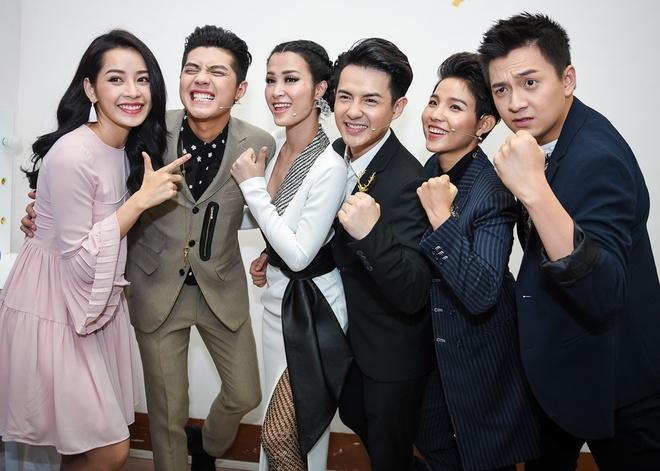 Noo Phuoc Thinh, Dong Nhi dua nghich khi quay The Voice Kids hinh anh 10