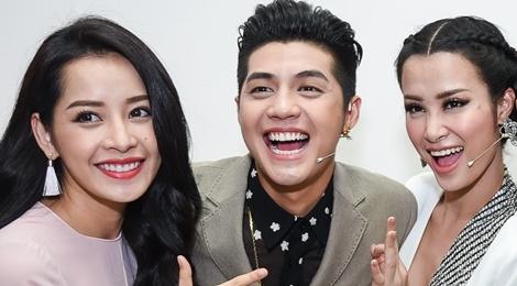 Noo Phuoc Thinh, Dong Nhi dua nghich khi quay The Voice Kids hinh anh