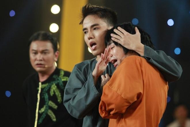Tran Thanh, Truong Giang bat khoc tren truyen hinh hinh anh 1
