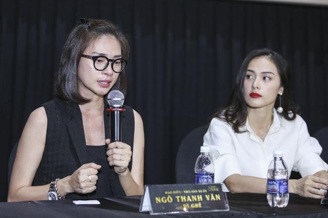 Ngo Thanh Van bat khoc thong bao Tam Cam khong chieu tai CGV hinh anh 1