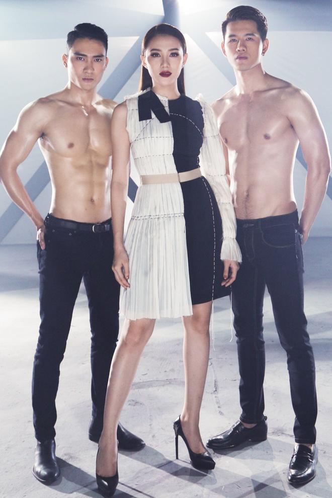 Ho Ngoc Ha huong dan hoc tro The Face quyen ru trong MV hinh anh 7