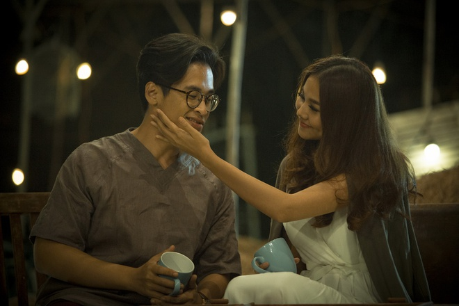 Ha Anh Tuan va Thanh Hang om hon trong MV hinh anh 6