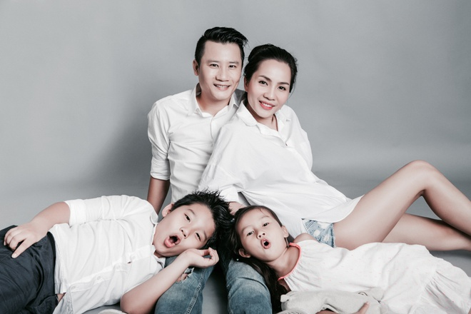 Gia dinh Hoang Bach mung sinh nhat con gai 4 tuoi hinh anh 5