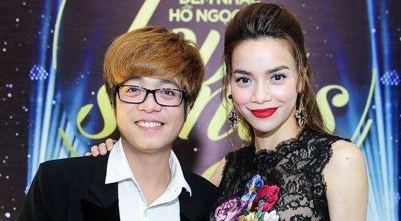 Ho Ngoc Ha nhuong Bui Anh Tuan 2 ca khuc lam album hinh anh