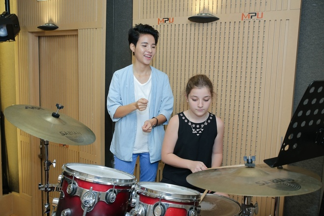 Team Vu Cat Tuong The Voice Kids anh 8
