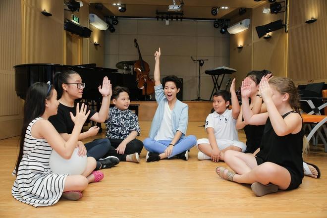 Team Vu Cat Tuong The Voice Kids anh 10