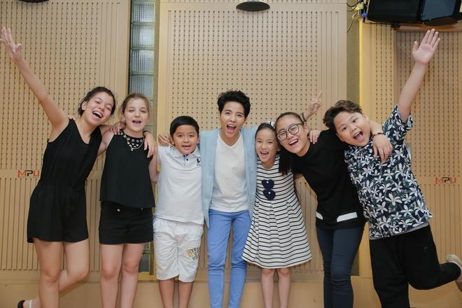 Team Vu Cat Tuong The Voice Kids anh 2